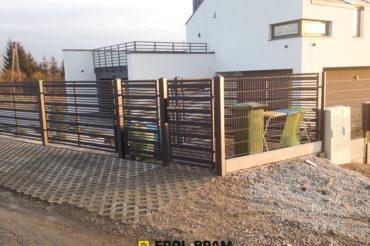 Realizacja: system ogrodzeniowy